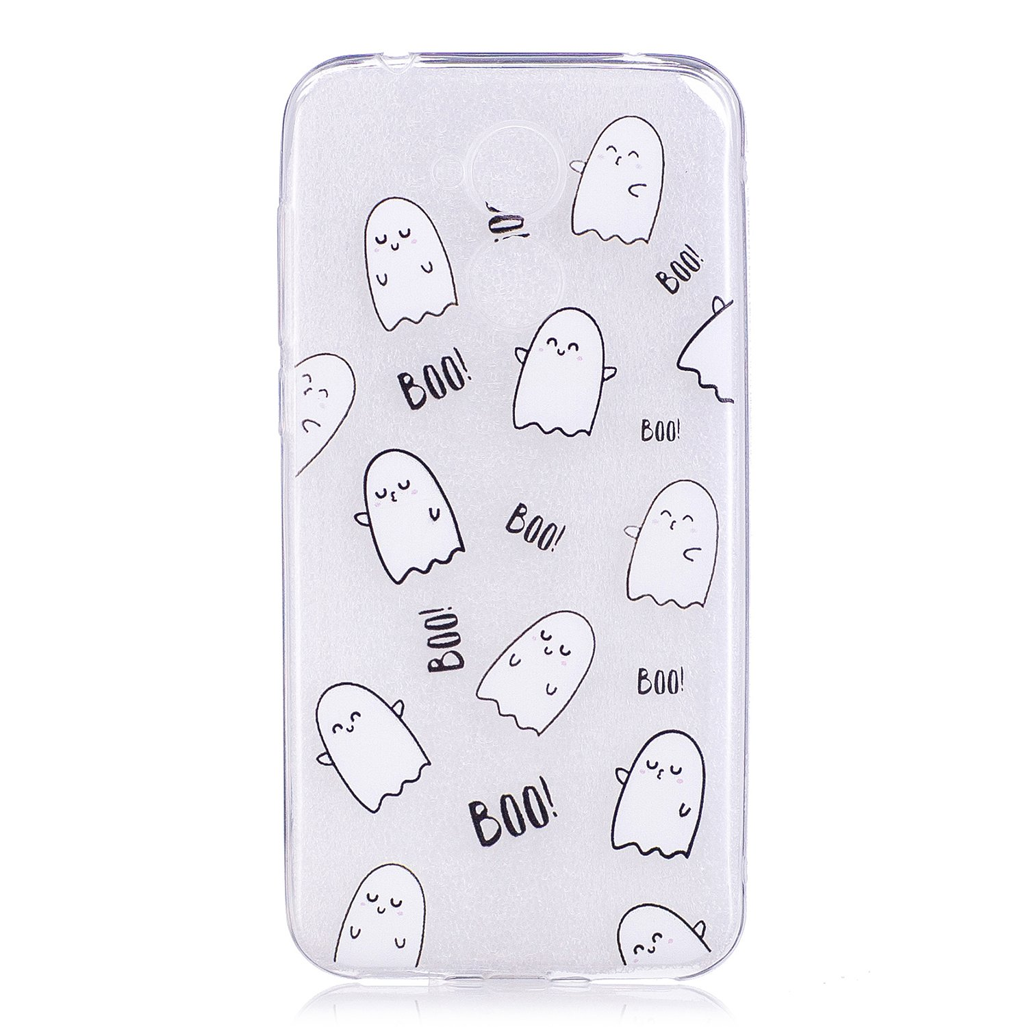 BONROY/® Huawei Honor 6A Coque Housse Etui,Fashion Belle Ultra-Mince Thin Soft Silicone Etui de Protection pour Souple Gel TPU Bumper Poussiere Resistance Anti-Scratch Case Cover Couverture Pour Huawei Honor 6A