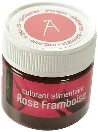les artistes paris a 0404 colorant alimentaire rose framboise - Colorant Alimentaire Rose