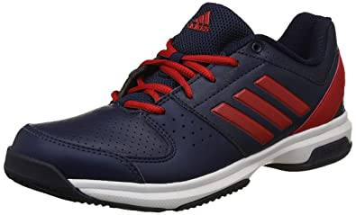 best service c685a eb302 Adidas Men s Hase Scarle Conavy Tennis Shoes-10 UK India (44 2