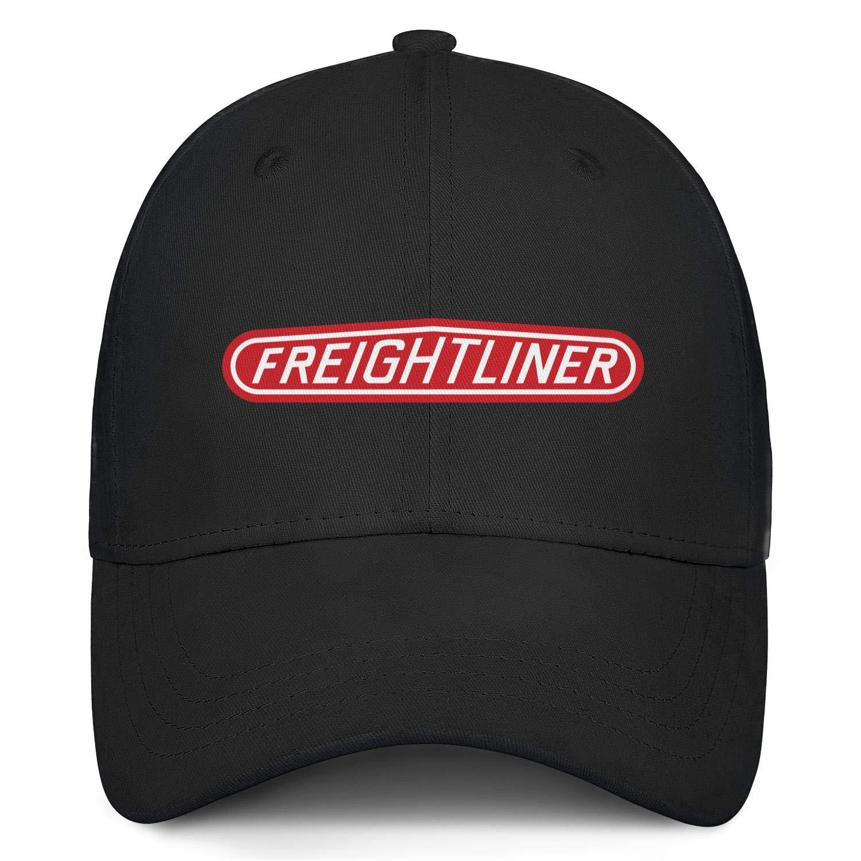 Women Girls Men Baseball Cap Cute Sparkle Logo-Freightliner-Trucks Adjustable Sandwich Baseball Cap Trucker Hat