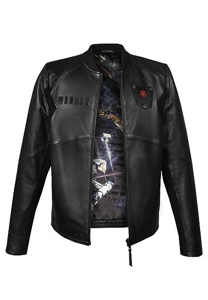 Musterbrand Star Wars Chaqueta De Cuero Hombre Tie Pilot Limited Edition Negro XS: Amazon.es: Ropa y accesorios