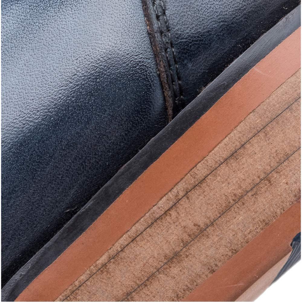 YCGCM Herrenschuhe England Tragbar Spitze Geschnitzt Atmungsaktiv Deo Tragbar England Fashion schwarz 8af461