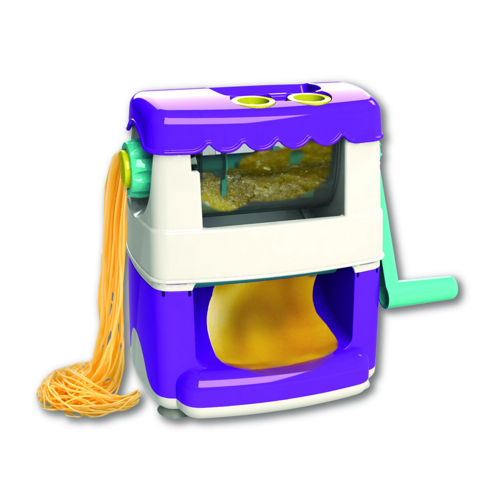 AMAV Ultimate Pasta Maker Machine Kit for Kids - DIY Make Your Own Pasta Master Piece From Scratch!