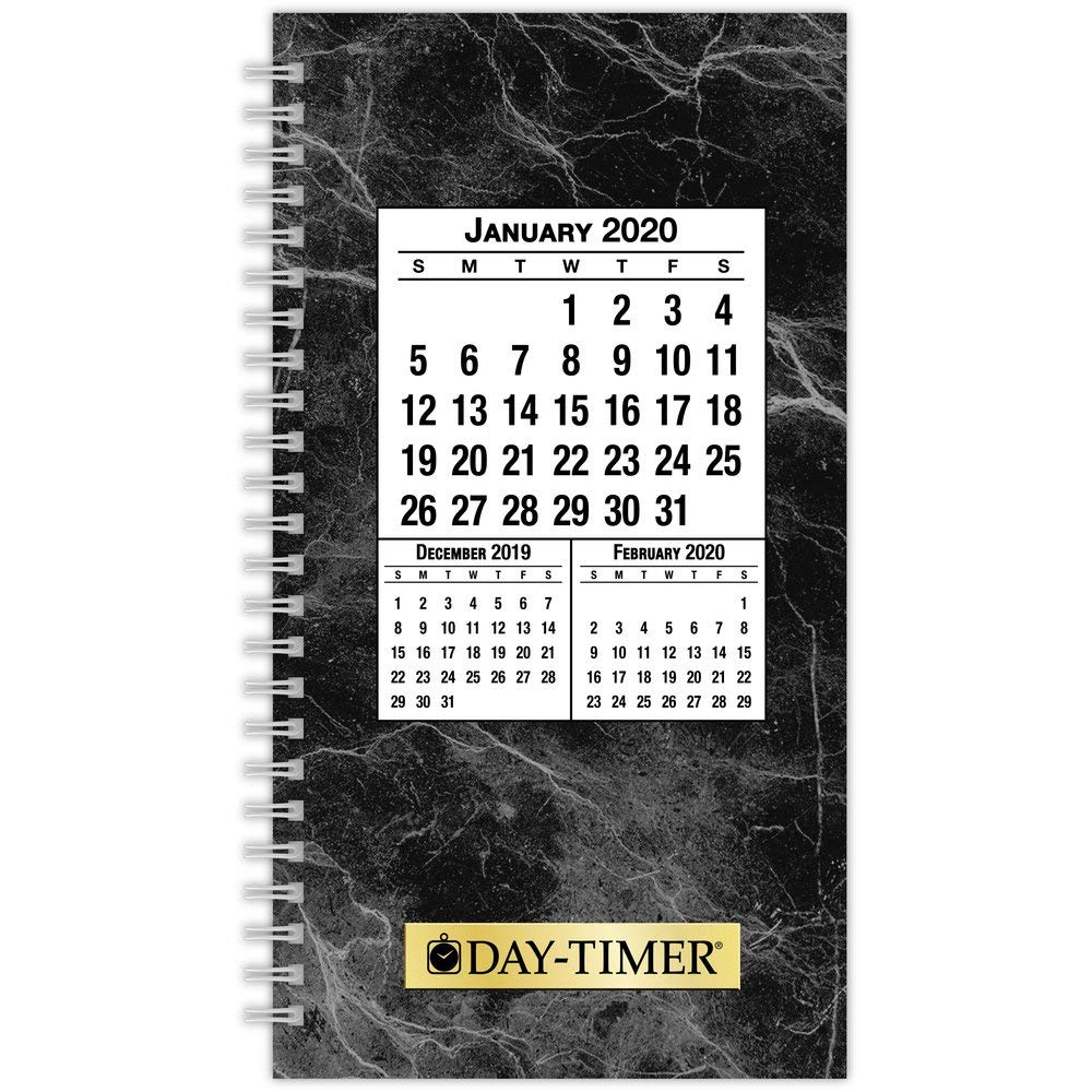 Day-Timer 2020 Daily Planner Refill, 3-1/2'' x 6-1/2'', Pocket Size 2, Wirebound, Two Pages Per Day, Classic (87010) by Day-Timer