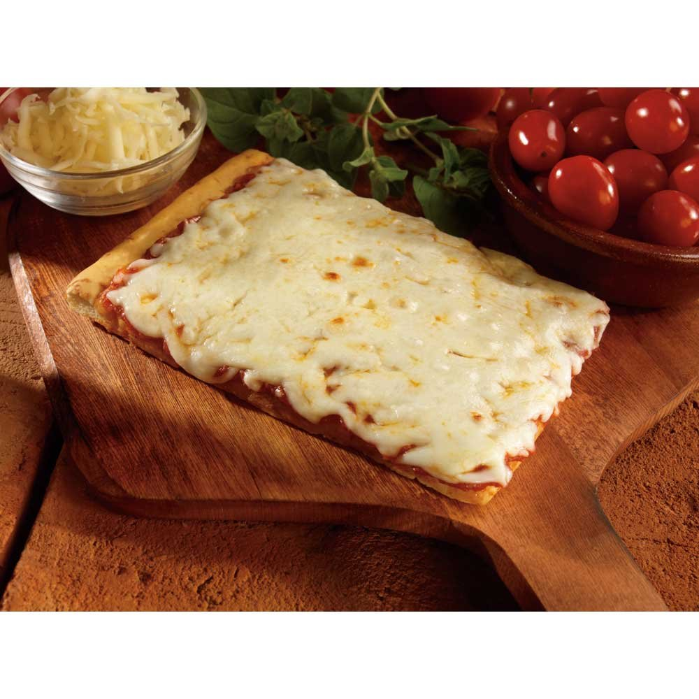Conagra The Max Mozzarella Cheese Pizza - 4 x 6 inch, 4.65 Ounce each -- 96 per case.