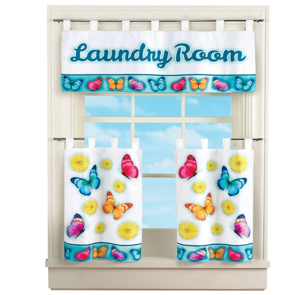 Colorful Window Valances for Kitchen: Amazon.com