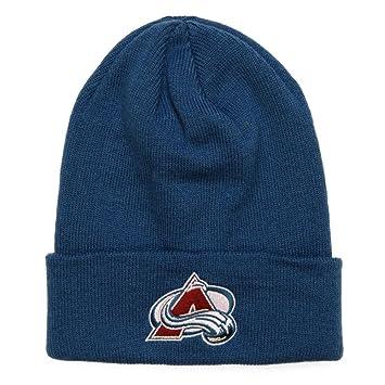7781130e20f Amazon.com  Reebok Mens 2017 NHL Basics Cuffed Knit Hat (One Size ...