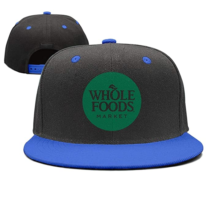 097a1f3789d UONDLWHER Adjustable Unisex Whole-Foods-Market- Cap Twill Snapback ...