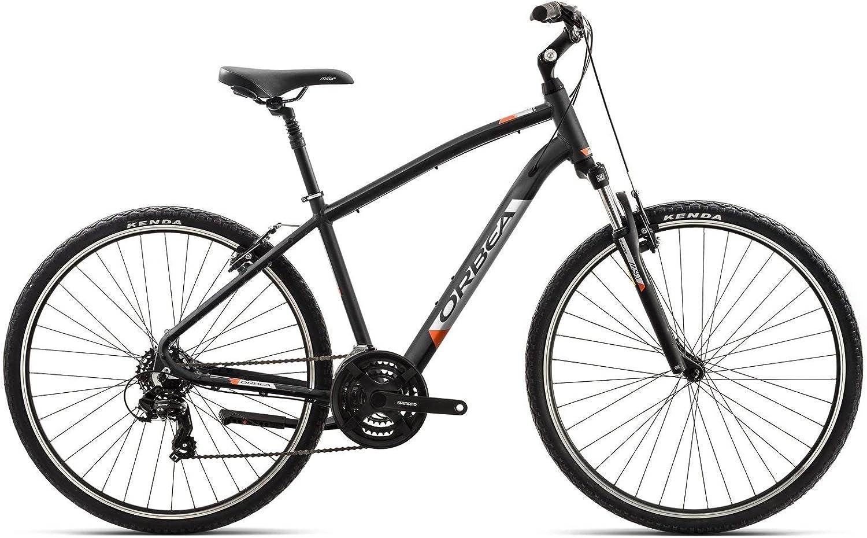 Orbea Comfort Bicicleta de trekking 30 7 marchas, 28 pulgadas Suspensión Hombre Mujer Unisex Tiempo Libre Bike, I406, color antracita, tamaño M: Amazon.es: Deportes y aire libre