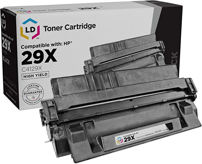 LD Remanufactured Toner Cartridge Replacement for HP 29X C4129X High Yield (Black)