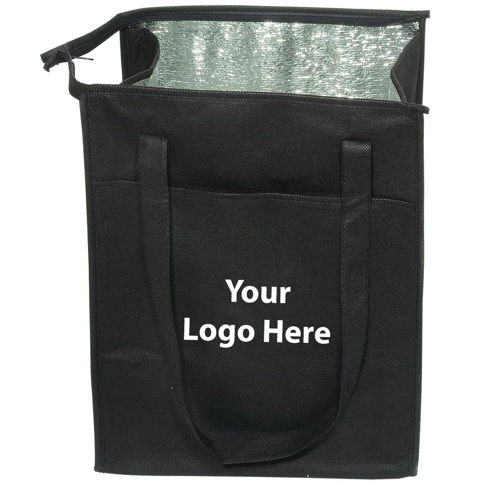 Insulated Grocery Tote - 50 Quantity - $4.39 Each - PROMOTIONAL PRODUCT / BULK / Branded with YOUR LOGO / CUSTOMIZED by Sunrise Identity