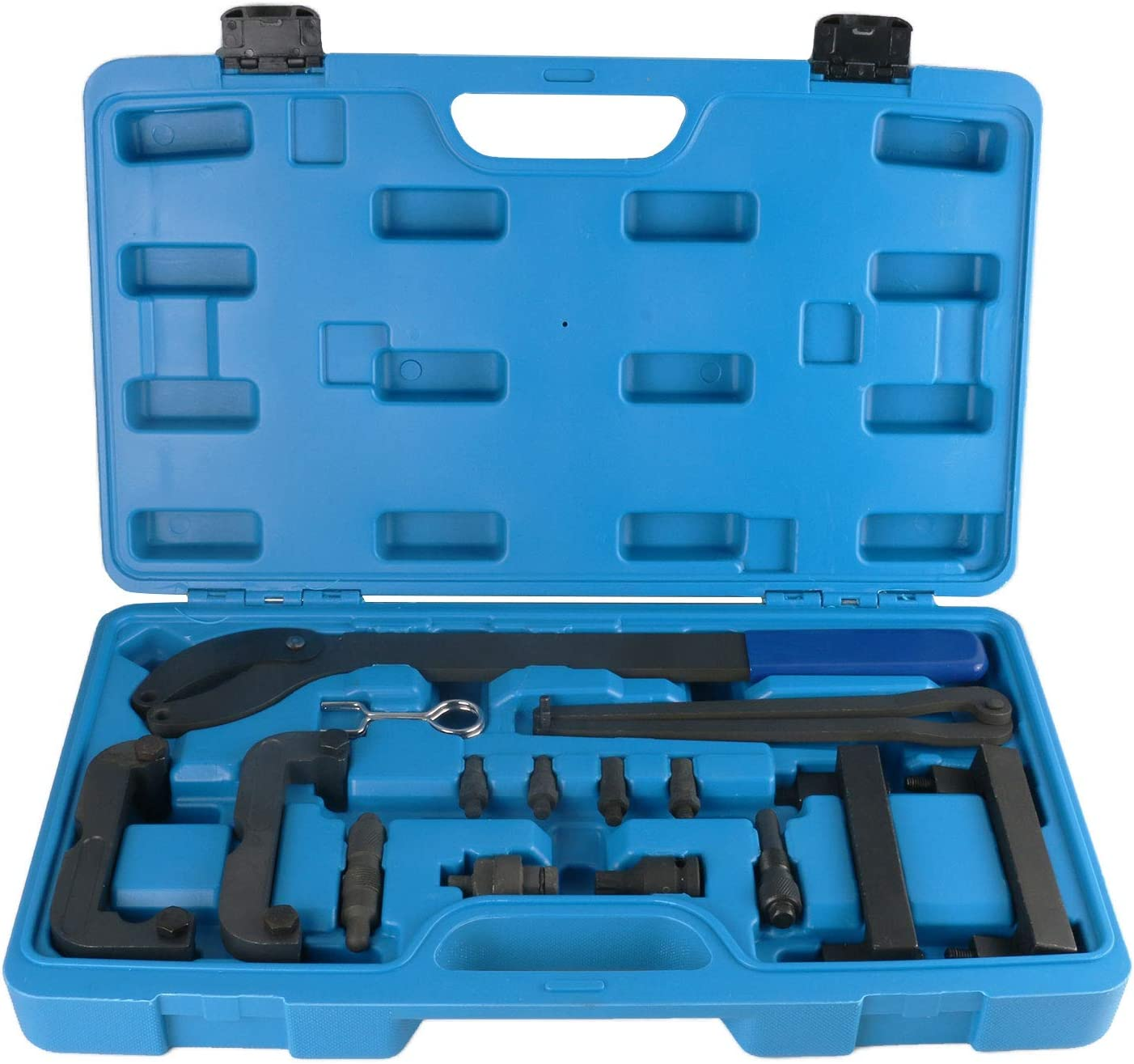 Mrcartool Engine Camshaft Alignment Tool Timing Belt Locking Tool Kit Compatible with VW Audi 2.4 2.8 3.2 4.2 3.0T OEM T40133 T40070