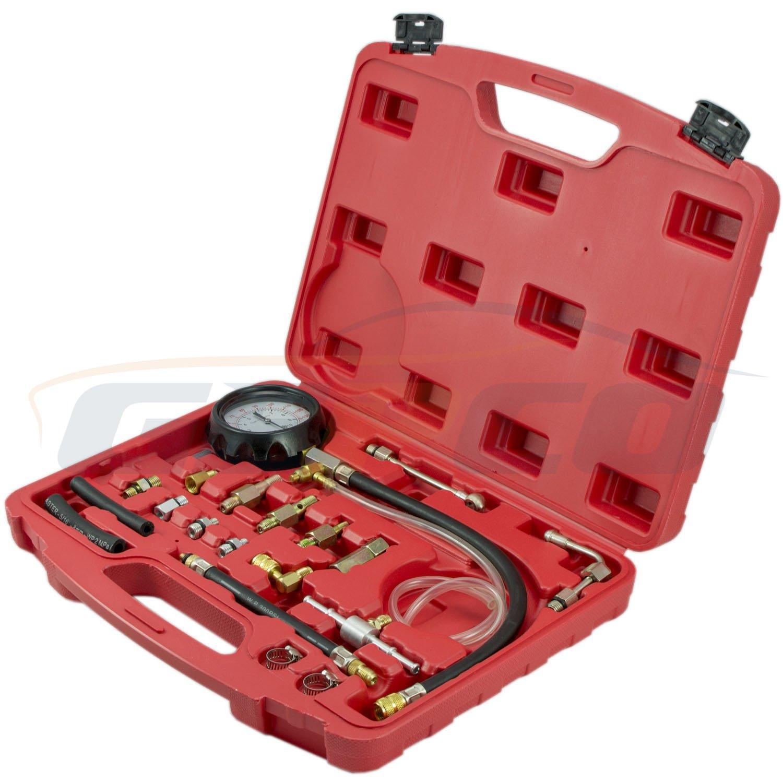 Oil Combustion Spraying Pressure Meter/manometro drucktester Misuratore di pressione impianto iniezione benzina diesel strumento GEPCO Advanced Technology