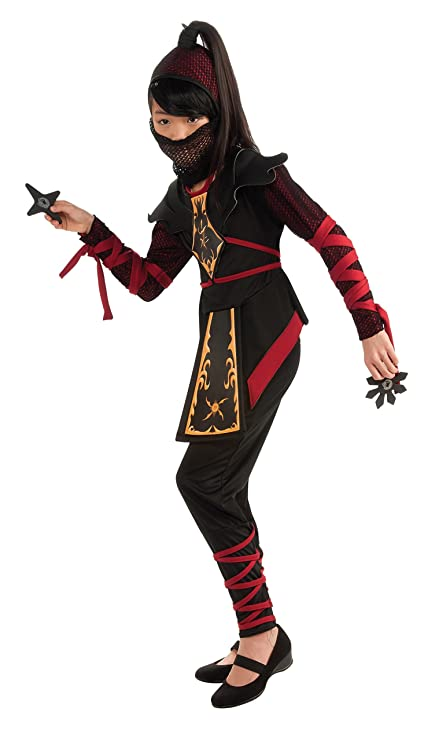 Rubies Warrior Ninja Childs Costume, One Color, Large, One Color, Large