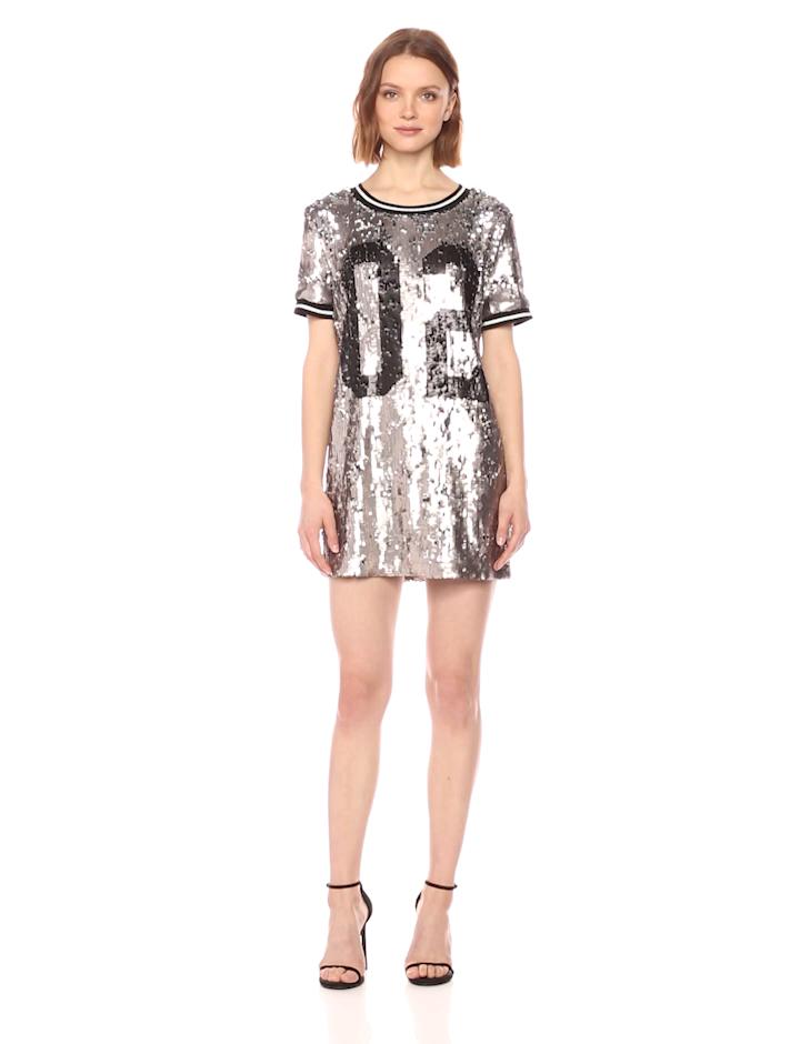 5b262374709 Amazon.com: True Religion Women's Sequin Dress: Clothing