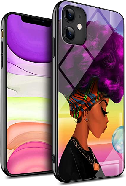Kitata Iphone 11 Case African American Black Women Afro Girls