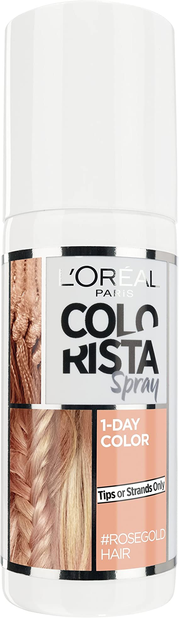 LOreal Paris Colorista Spray Rosa Oro Temporal Cabello Color 75ml