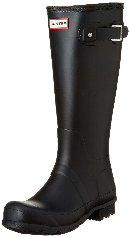 Hunter Men's Original Tall Knee-High Rubber Rain Boot B00JLEAV00 11 D(M) US Black