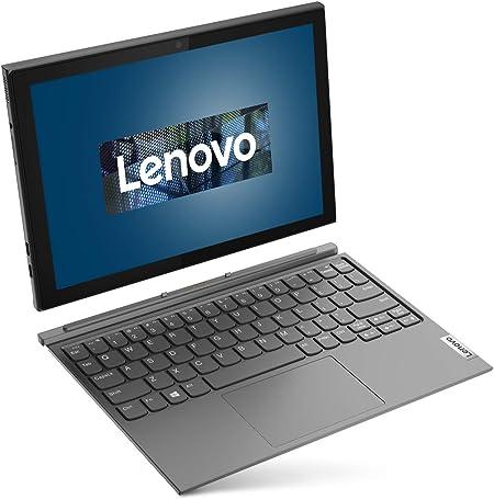 Lenovo IdeaPad Duet 3i - Tablet 2 en 1 (10,3 pulgadas, 1920 x 1200, Full HD, WideView, Touch), color gris (teclado alemán)