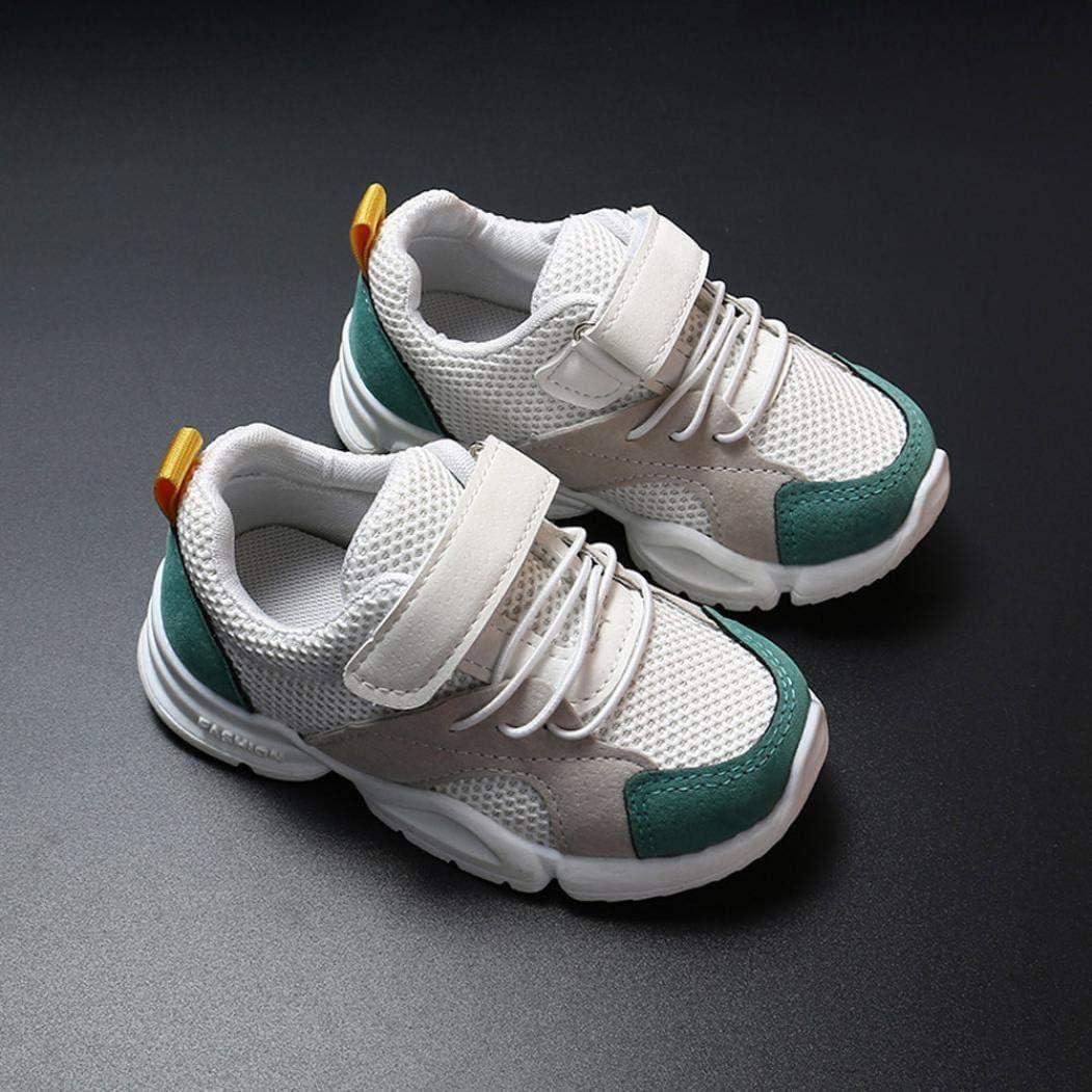 Xinantime Enfant en Bas /âge B/éb/é Gar/çons Filles Enfants Sneakers Casual Mesh Chaussures De Course Doux Chaussures B/éb/é Sneakers Enfant Baskets Chaussure
