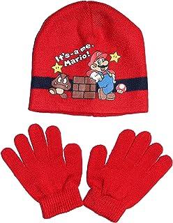 Mario - Set de bufanda, gorro y guantes - para niño
