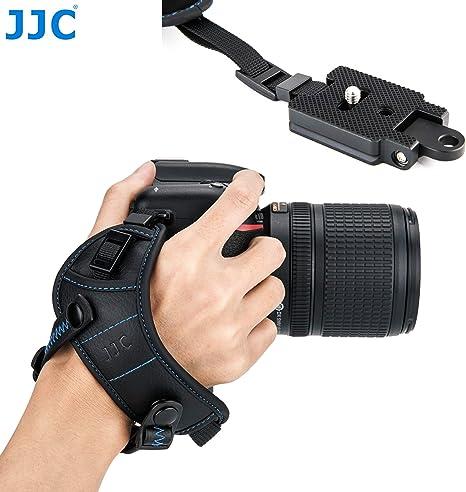 Titular de la correa ajustable Fotografía Cámara Colgar Lente Bolsa Negro Cintura Cinturón Sling I