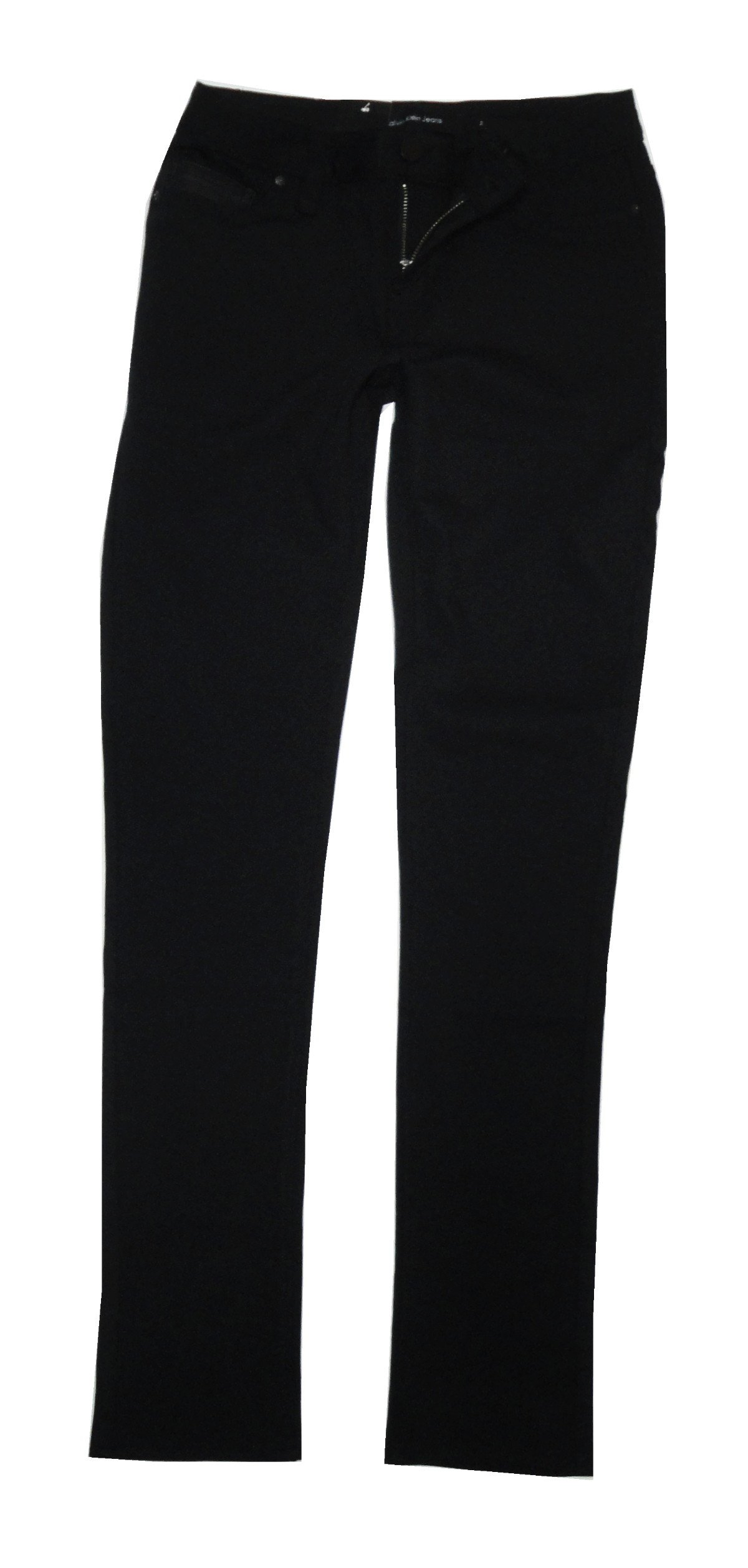 Calvin Klein Women's Stretch Ponte Pants, Black, 10