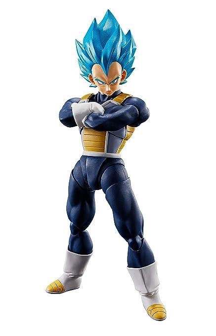 Tamashii Nations Bandai Sh Figuarts Super Saiyan God Super Saiyan Vegeta Dragon Ball Super Broly Action Figure