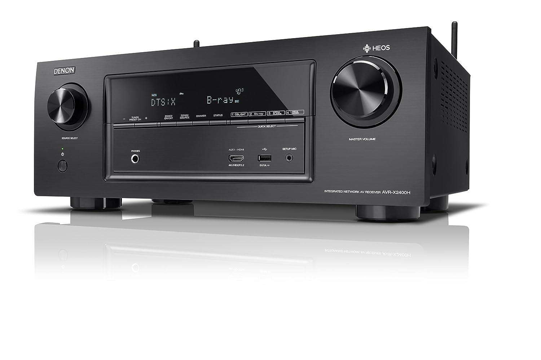 Denon AVRX2400H 7.2 Surround AV-Receiver Schwarz: Amazon.de: Elektronik