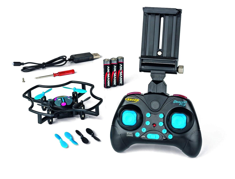 Carson 500507137 500507137-X4 Dragonfly FPV 2.4G RTF, Modelo de ...