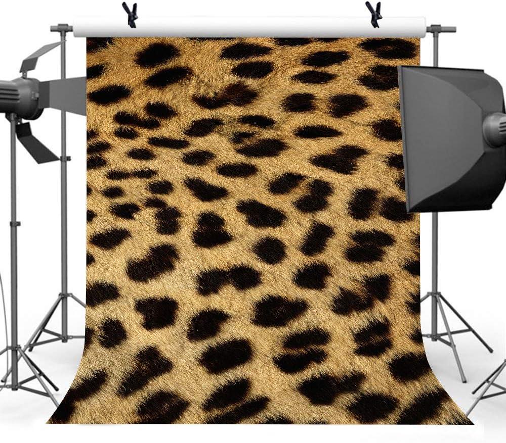 Lylu169 Fotohintergrund Mit Leopardenmuster 1 8 X 2 7 M Stilvoller Hintergrund Fotoautomaten Requisiten