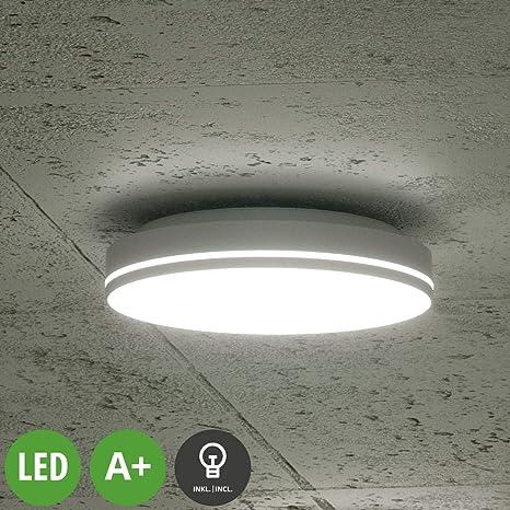 LED Lámpara de techo Rob (Moderno) en Gris hecho de ...