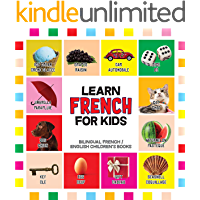 French for Kids: Learn French for Toddler - French Reading Practice, Teaching French to Preschoolers (Bilingual English…