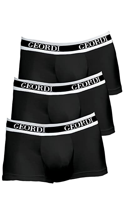 DIANE & GEORDI 5170 Men Underwear Low Rise Boxer Trunk | Ropa Interior De Hombre at Amazon Mens Clothing store: