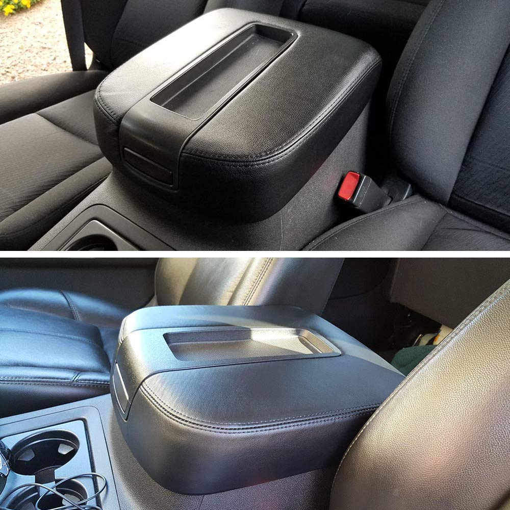 2010 Cadillac Escalade Passenger Bottom Replacement Leather Seat Cover Black