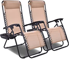 reclining patio chairs amazon com