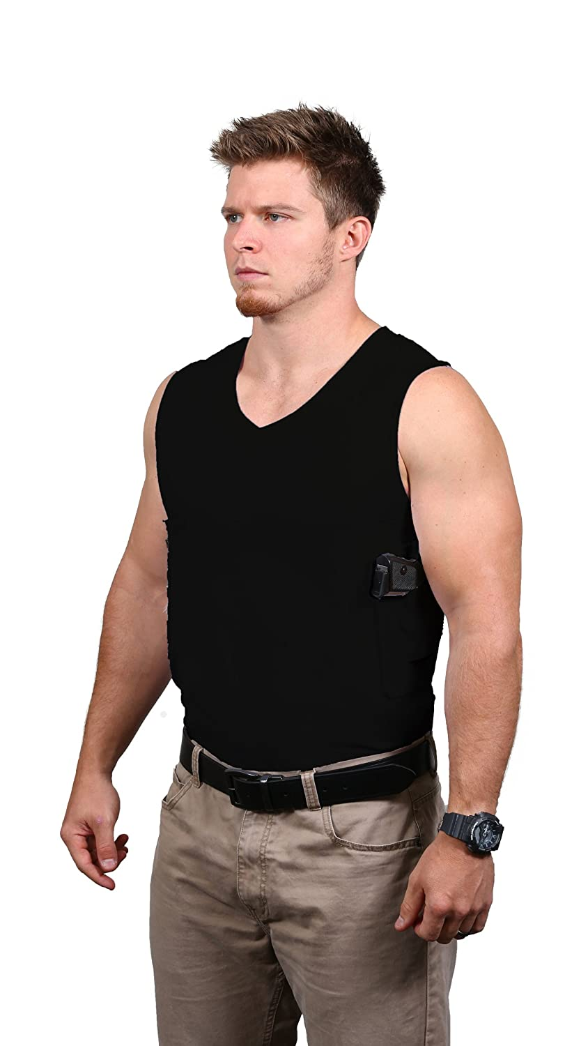 410b4bfbd083fa Amazon.com  Packin  Tee Concealed Carry T-Shirt