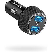 Anker PowerDrive Speed 2 Autolader, 39 W, 2-poorts autolader met Quick Charge 3.0 en PowerIQ voor Samsung Galaxy/Note/S9…