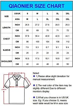 SHIRTQA Mens Casual Sólido Jirafa Polo Camisas con Jirafa Bordado ...