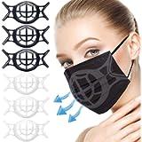 GOKEI [6PCS] 3D Silicone Bracket | Face Inner Support Frame | Face Frame Support Bracket | Silicone | Hack Easy to…
