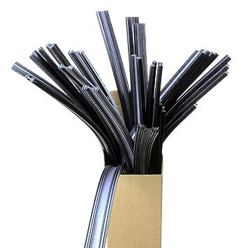 INION® Set – 6 x 800 mm extra largo para limpiaparabrisas goma (suficiente para