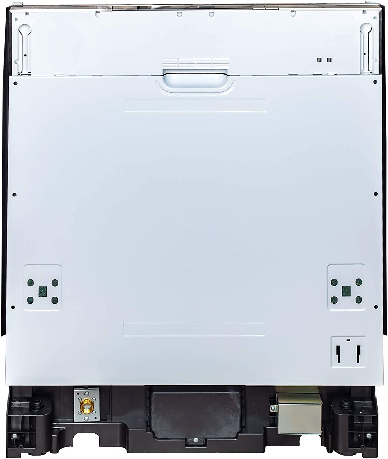 24 in. Top Control Dishwasher in Custom Panel Ready with Stainless Steel Tub 71axAdO75sLSL1500_