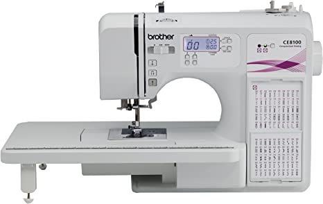 Brother ce8100 120-stitch Informatizado y Quilting máquina de ...