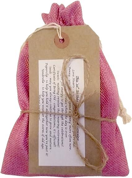 Kit de supervivencia para cumpleaños número 40, divertido, regalo humorístico y novedoso para cumpleaños, color rosa: Amazon.es: Oficina y papelería