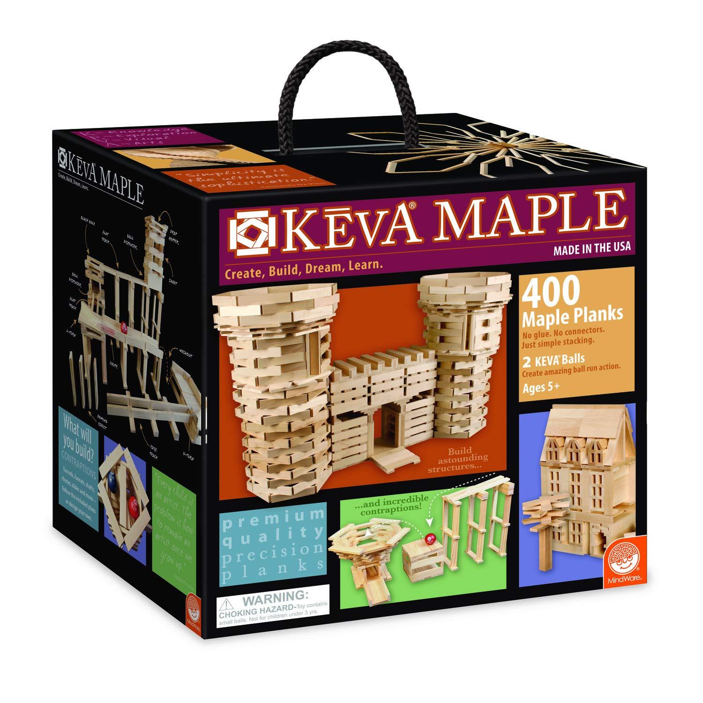 KEVA Maple 400 Plank Set by MindWare