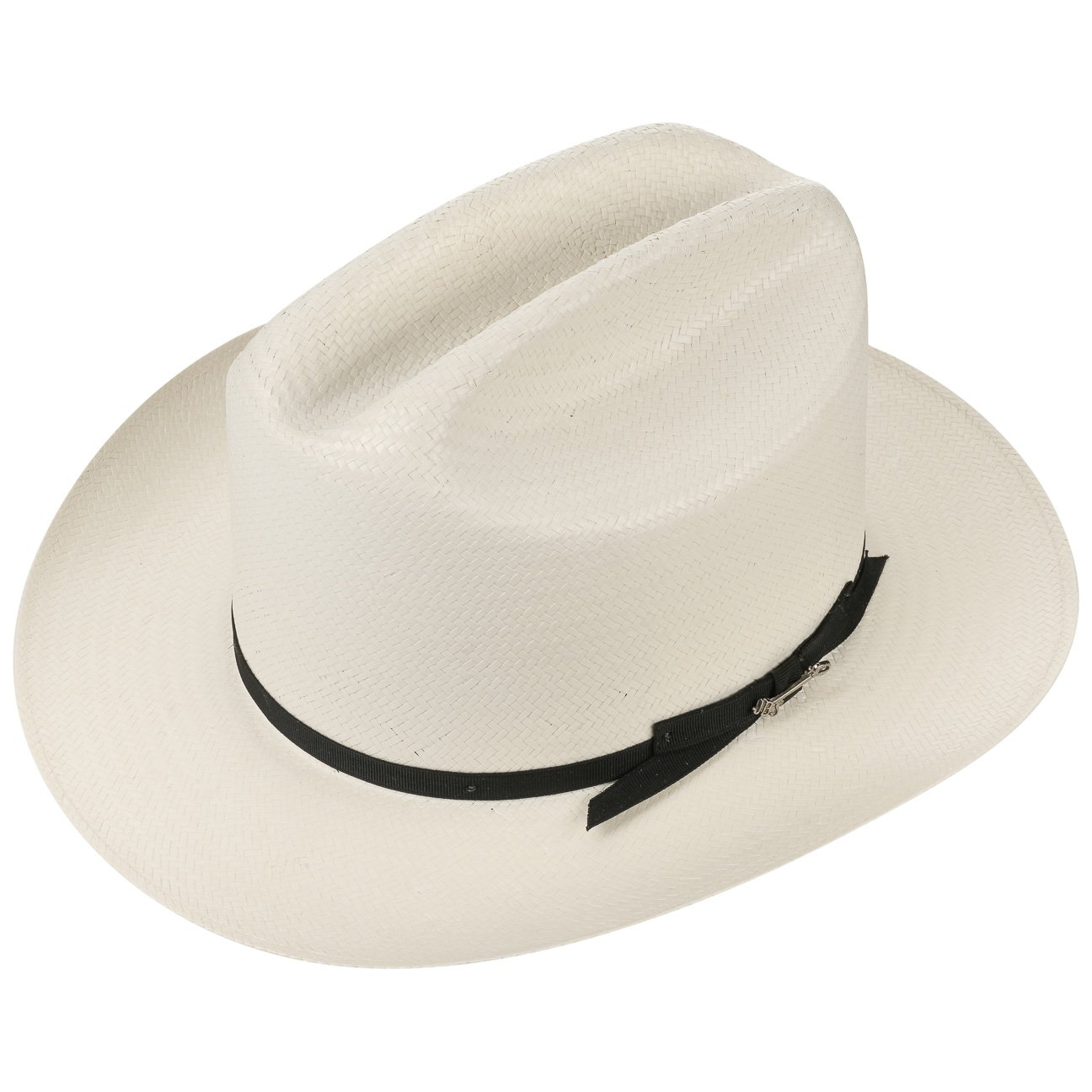 Made in USA Stetson Open Road 6X Western Straw Hat Men