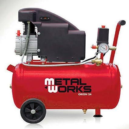Compresor de aire 1,5 cv 24 litros