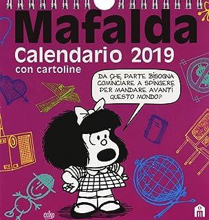 Granica Gb00113 Mafalda 2019 Calendario Da Collezione Amazonit