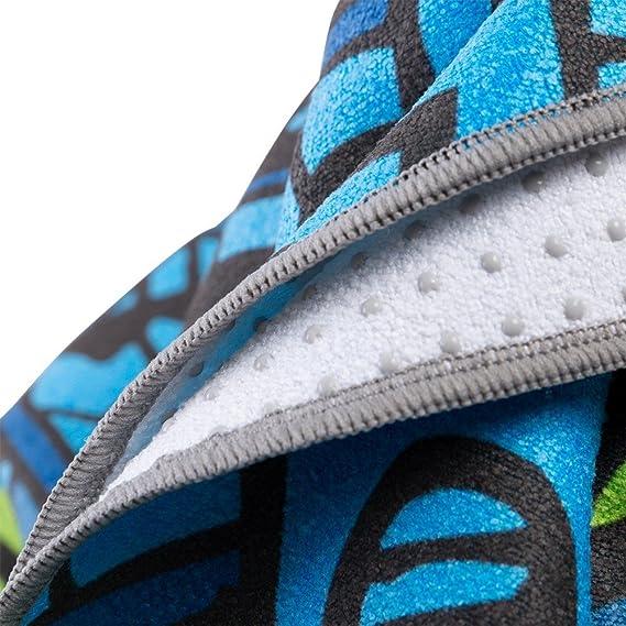 ZODIC Yoga Mat Towel Printing Yoga Towel Non-slip Pilates ...