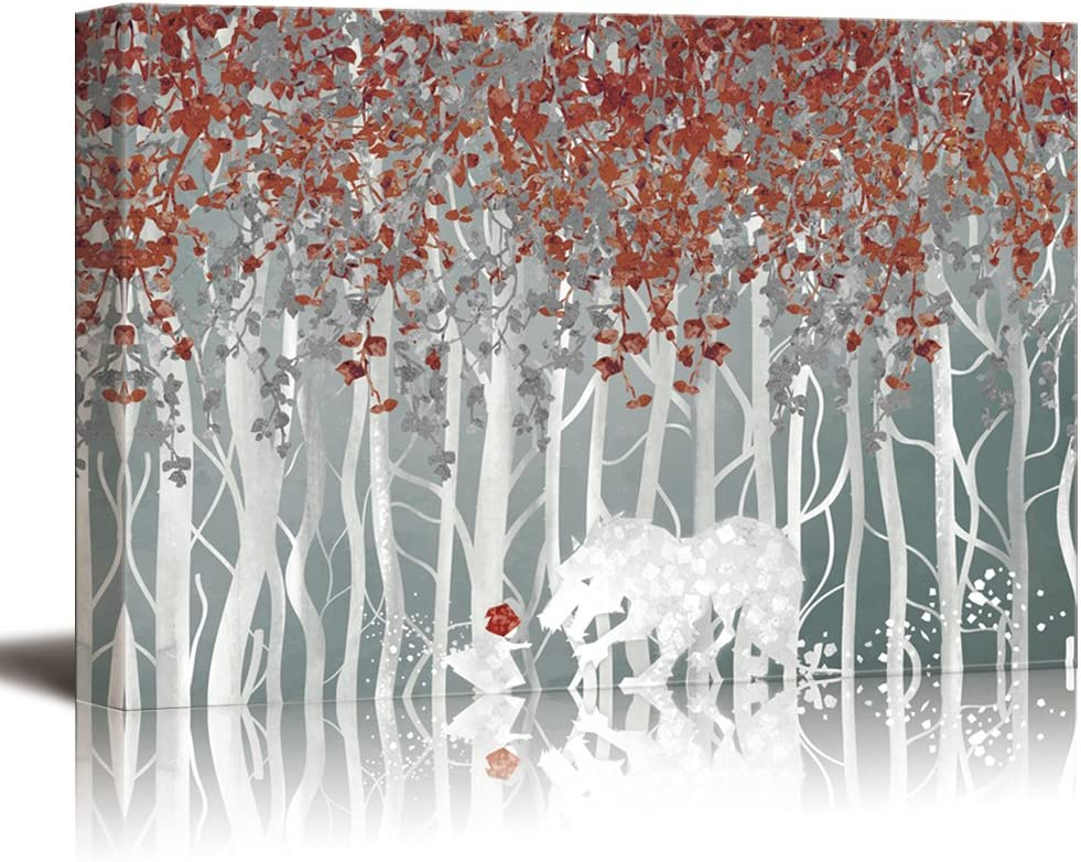 Fascinating Creative Design, Little Red Riding Hood in The Forest, Premium Creation
